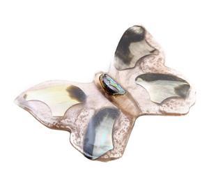 Broche Mariposa – beige