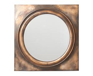 Espejo en polirresina – dorado pátina