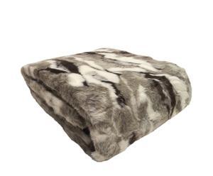 Manta de pelo de lobo ártico - 140x180 cm
