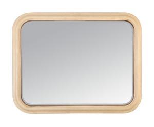 Espejo de madera ANGLES – crema