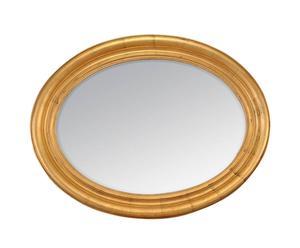 Espejo de madera, ovalado – dorado