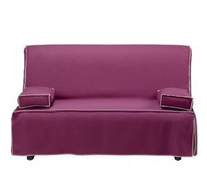 Sofá cama Jolly, burdeos – grande