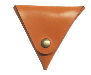 Cartera de piel Triangle – camel