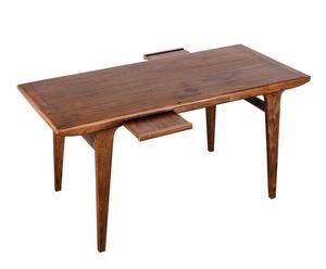 Mesa de comedor de madera tropical - natural