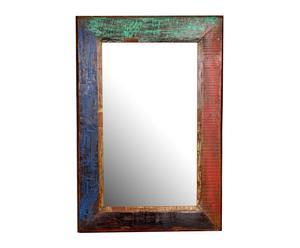 Espejo en madera de teca – multicolor