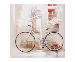 Lienzo de lino - bicicleta