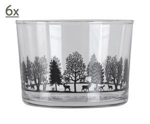 Set de 6 vasos Roquebrune