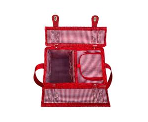 Cesta de picnic – roja