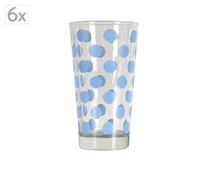 Set de 4 vasos de cristal Sky
