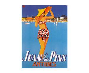 Póster Juan-les-Pins