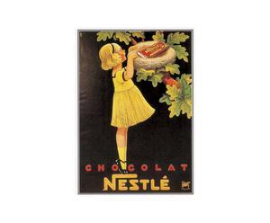 Cartel Chocolate Nestlé – 50x70
