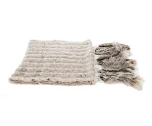 Bufanda Mohair, gris claro – 50x110