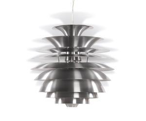 Lámpara de techo de aluminio con capas - Plata