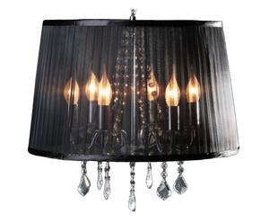 Lámpara de techo Lustre Negro