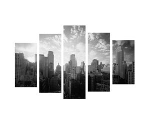 Set de 5 lienzos New York – 150x45