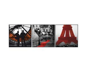 Set de 3 lienzos Paris Art – 20x20
