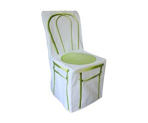 Funda de silla Bistrot – Verde anís