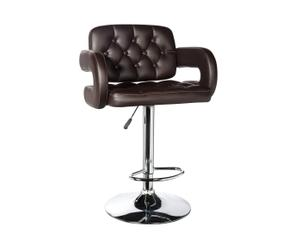 Silla de bar confort – Chocolate