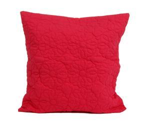 Cojín de terciopelo Rojo - Cuadrado