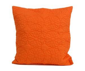Cojín de terciopelo Naranja - Cuadrado