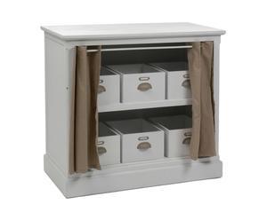 Mueble con 6 compartimentos