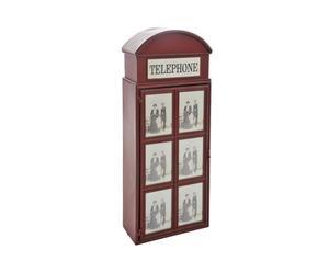 Armario cabina telefónica