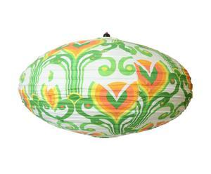 Lámpara de techo Oval, Floral – Ø80
