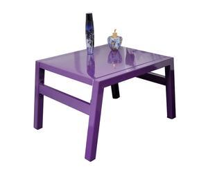 Mesita de noche Rio – púrpura