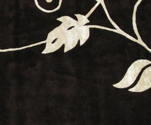 Alfombra Romance, negro – 165x235
