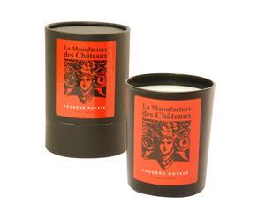 Vela perfumada Helecho Real, aroma amaderado - 180g