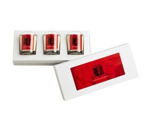 Set de 3 velas perfumadas Otoño - 75g
