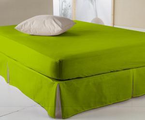 Set de 2 sábanas bajeras, verde lima – 200x160