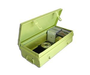 Caja metálica Habitat – verde
