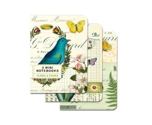 Set de 3 cuadernos Naturaleza