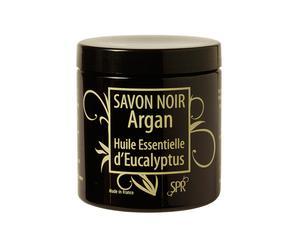 Jabón negro de Argán con aceite de eucalipto - 250ml