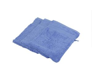 Set de 3 paños de baño - Azul
