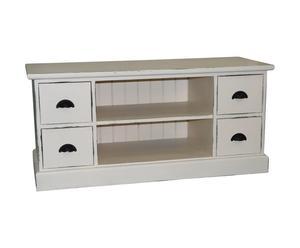 Mueble para TV, crema - L129