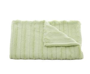 Colcha Channel verde palo – 75x75