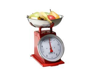Balanza de cocina, Rojo – 5kg
