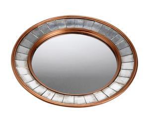 Espejo de resina –dorado y Plateado