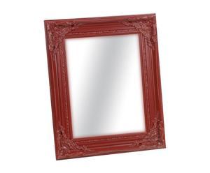 Espejo de paulonia - rojo