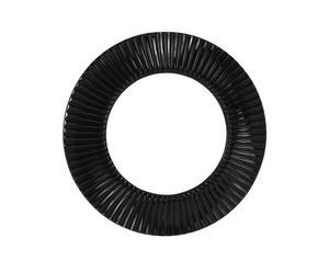 Espejo de PVC, negro – Ø98