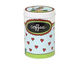 Caja para guardar café - metal