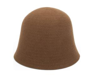 Sombrero de fieltro Poppy, chocolate – T 54-55