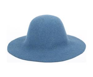 Sombrero de fieltro Capeline, azul – T 56-57