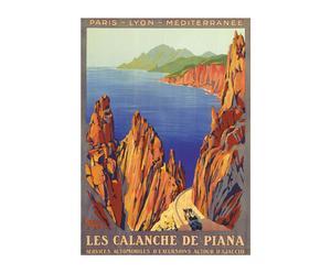 Cartel Les Calanques di Piana