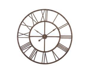 Reloj de pared de metal ALLA, rústico - Ø80