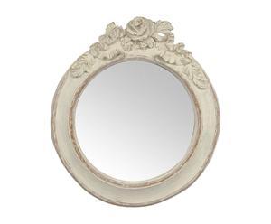 Espejo en resina Antique - blanco
