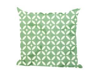 Set de 2 cojines Mosaique, verde – 40x40