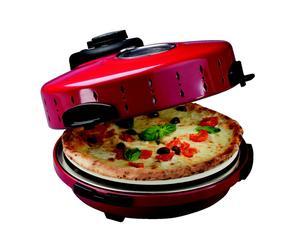 Horno de pizza – rojo y negro